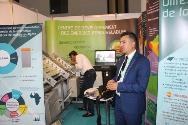 Participation du cder au salon international des energies for Salon energie renouvelable