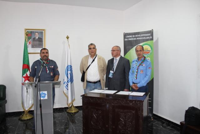 Signature d une convention entre le cder et les scouts for Salon musulman 2017