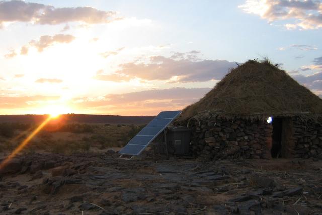 الفرع التجاري Er2 م ت ط م يركب الطاقة الشمسية لتزويد المنازل