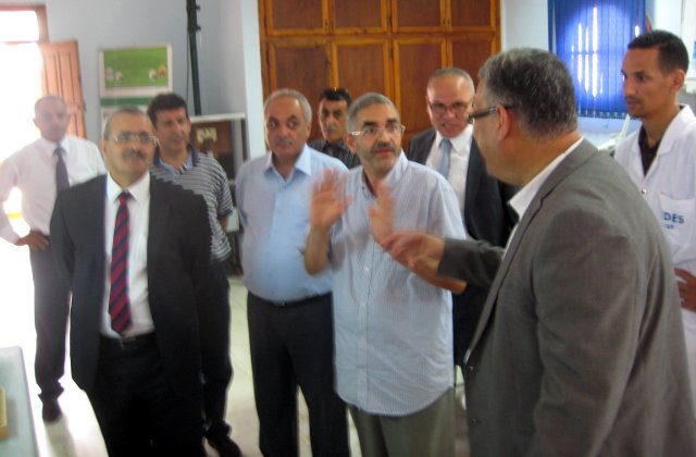 Visit Of The Secretary General Of The Jordanian Ministry Of Higher Education And Scientific Research At The Udes Cder Renewab𝗅e Energy Deve𝗅opment Center A𝗅geria